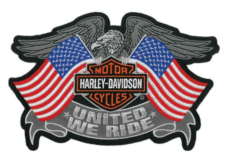 Harley-Davidson United We Ride Eagle Aufnäher