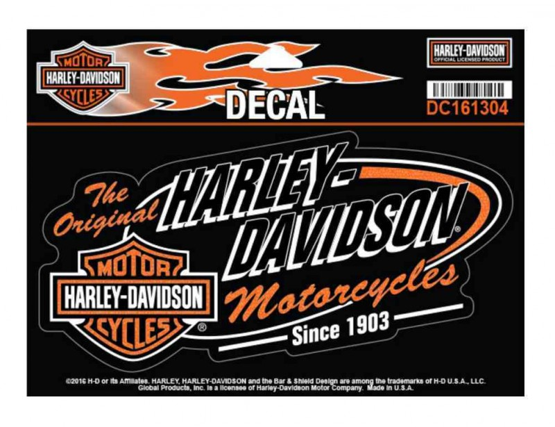 Harley-Davidson Retro H-D Bar & Shield Aufkleber