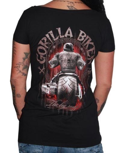 Gorilla-Bikewear Red Shirt